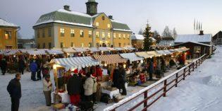 Weihnachtsmänner und Welterbe: Die schwedische UNSECO-Stadt Falun feiert traditionell