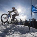 Adrenalin pur: Winter-Mountainbiken in Innsbruck