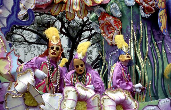 Nackte Männer in New Orleans