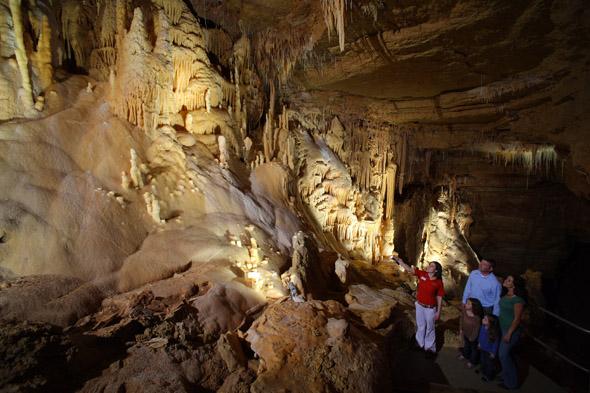 Inner Space Caverns Hidden Passages Tour