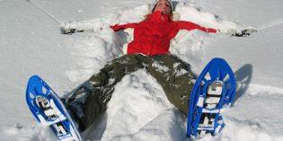 Schneeschuhwandern am Ochsenkopfgipfel