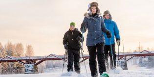 Aktiv oder entspannt oder beides: Skellefteå im Winterwunderland Västerbotten