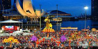 """Zum """"Jahr des Hundes"""": Singapur in Feierlaune"""
