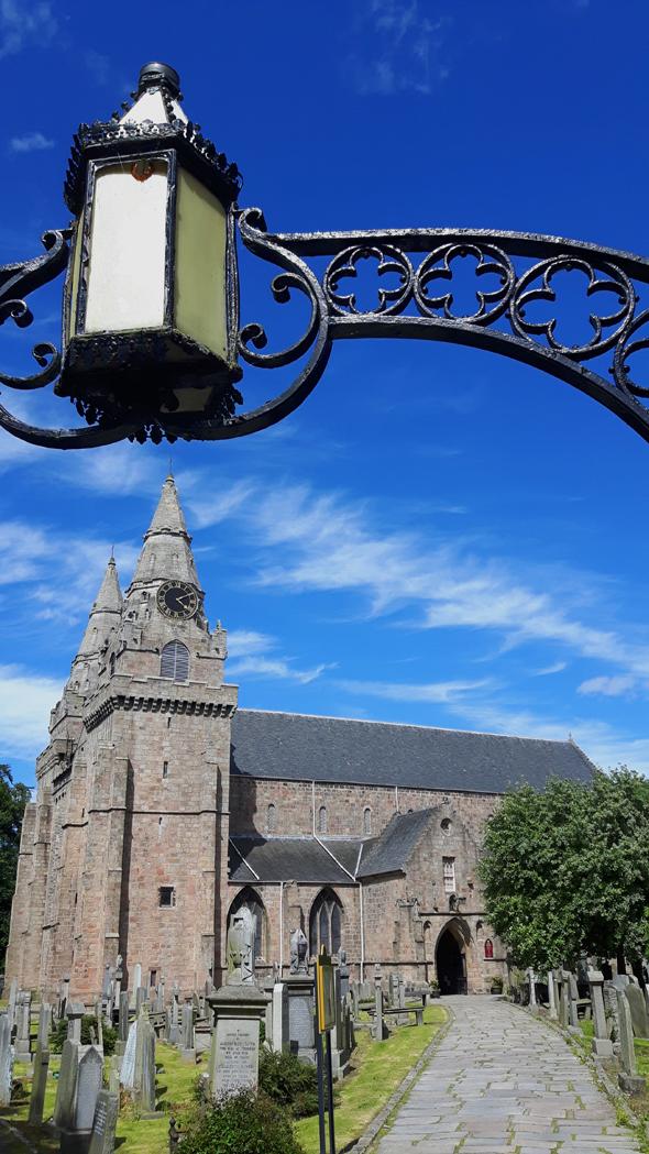Die kleine St. Machar's Cathedral in Old Aberdeen gilt als Wiege der Stadt. (Foto Karsten-Thilo Raab)