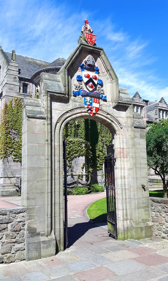 Die Universität in Aberdeen blickt auf eine mehr als 500 Jahre alte Geschichte zurück. (Foto Karsten-Thilo Raab)