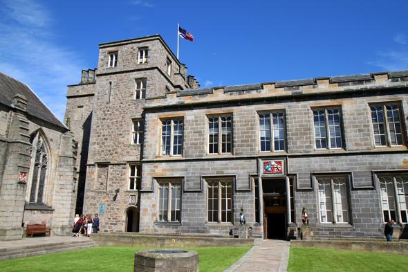 Das King's College ist die drittälteste Universität in Schottland. (Foto Karsten-Thilo Raab)