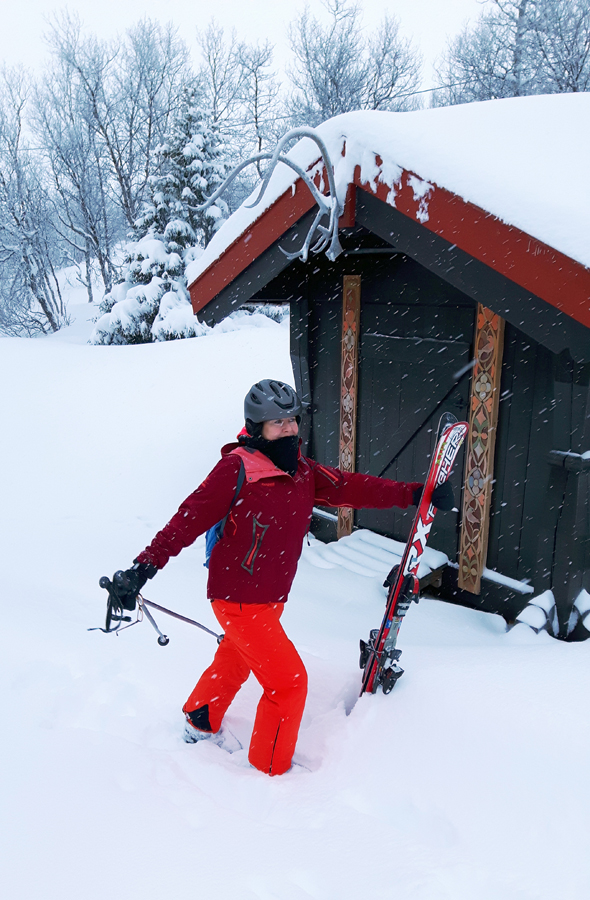 Schnee satt ist in Skarslia fast schon garantiert. (Foto Karsten-Thilo Raab)