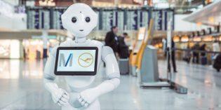 "Roboter ""Josie Pepper"" gibt Passagieren Auskunft"