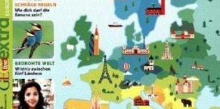Rezepte, Fakten, Fotos: Kids erlesen Europa