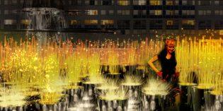 Größtes Lichtkunstfestival der USA in Baltimore