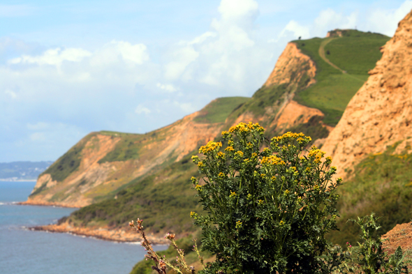 Einfach faszinierend ist die Jurassic Coast bei West Bay. (Foto Karsten-Thilo Raab)