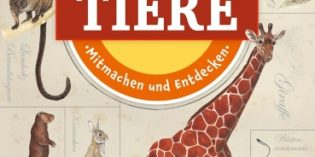 Die Welt der Tiere: Stickerspaß für Kids auf Tour