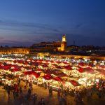 Marrakesch – rote Stadt mit blinden Wänden