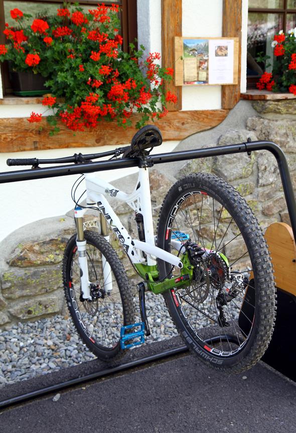 Auch für die entspannte Einkehr finden sich für die Mountainbiker zahlreiche Möglichkeiten. (Foto Karsten-Thilo Raab)