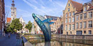 Kunst im Fluss bei der Triennale Brügge