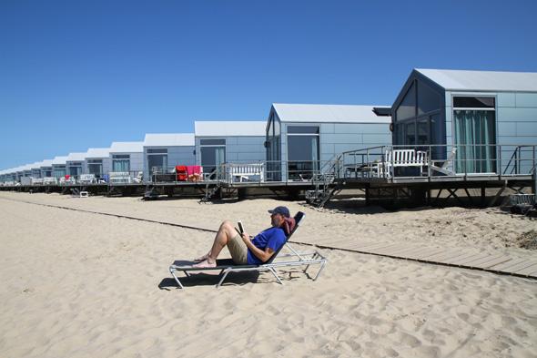 Insgesamt 90 Strandhäuser hält Landal in Juliandorp vor. (Foto Ulrike Katrin Peters)