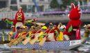 Hongkong feiert seinen 9. Drachenboot-Karneval