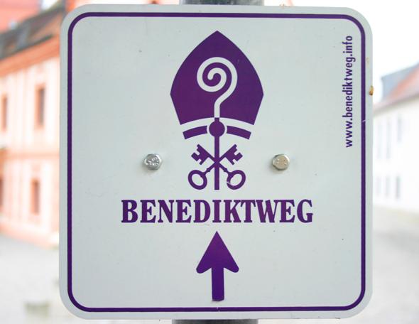 Der Benediktweg führt über 224 Kilometer auf den Spuren von Joseph Ratzinger durch Ostbayern. (Foto Karsten-Thilo Raab)