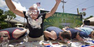 Das große Fressen beim Key Lime Festival