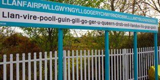 Wales: Konsonanten-Schwemme in Llanfairpwll