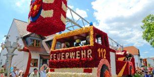 """Rosendorf feiert """"150 Jahre Rosen aus Steinfurth"""""""