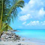 Tombolo und andere Phänomene auf Martinique