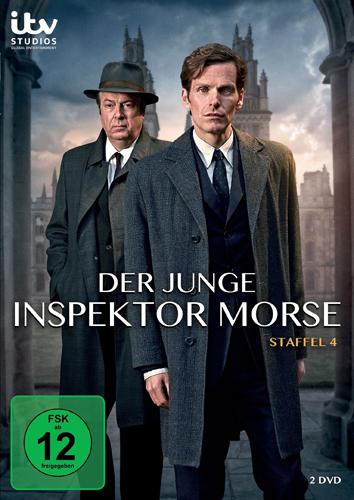 DVD-Cover Der Junge Inspektor Morse 4