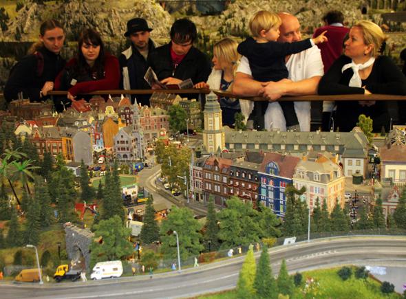 Die Miniatur Wunderwelt ist einer der größten Besuchermagneten in Hamburg. (Foto Karsten-Thilo Raab)