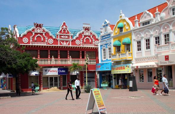 Auf Aruba wird neben Niederländisch auch Papiamento gesprochen. (Foto Karsten-Thilo Raab)