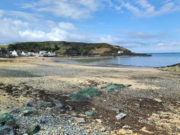 Überaus einladend gibt sich die Bucht von Porthdinllaen auf der Llŷn-Halbinsel. (Foto Karsten-Thilo Raab)