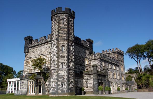 Castle Deudraeth dient heute als luxuriöses Hotel. (Foto Karsten-Thilo raab)