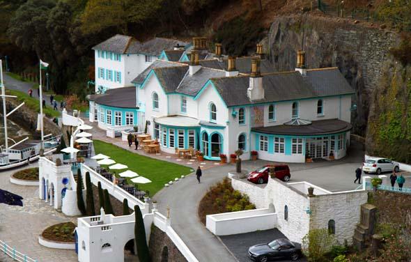 Das Restaurant am Ufer der Tremadog Bay gehört zu den besten im Norden von Wales. (Foto Karsten-Thilo Raab)