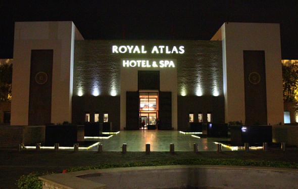Das Royal Atlas besticht durch seine Lage direkt am Strand von Agadir. (Foto Karsten-Thilo Raab)