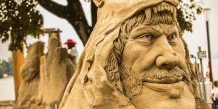 Vergängliche Kunst am Bodensee: Sandskulpturenfestival in Rorschach