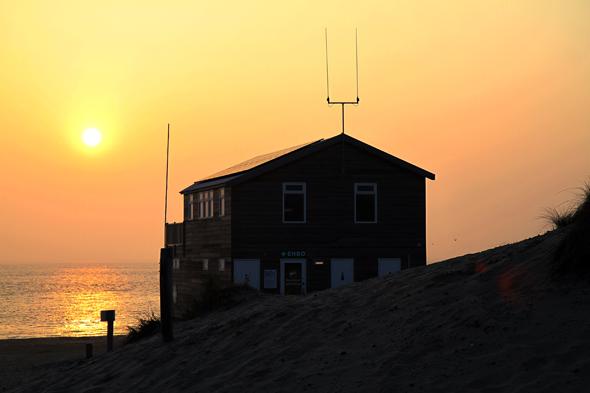 Ein Hauch von Karibik liegt über der niederländische n Nordsee. (Foto Karsten-Thilo Raab)