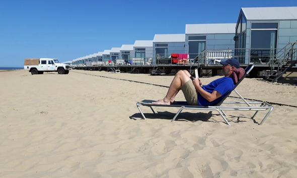 Landal hält insgesamt 90 Strandhuijse Julianadorp vor. (Foto Karsten-Thilo Raab)