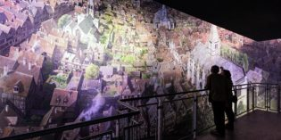 Mittelalterliches Rouen im XXL Panorama