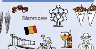 Eine augenzwinkernde Hommage an die Belgier