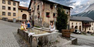 Tschlin – Bergwellness mit Brunnen-Badeplausch