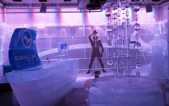 Die Eisbar sorgt auch an heißen Tagen für eine entspannte Abkühlung. - Foto Karsten-Thilo Raab