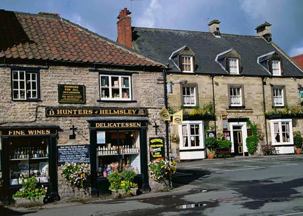 Ein Stück Bilderbuch-England in Helmsley. (Foto Karsten-Thilo Raab)