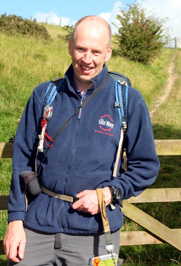 Mark Reid hat seine Passion für Wandern und Bier miteinander kombinert. (Foto Karsten-Thilo Raab)