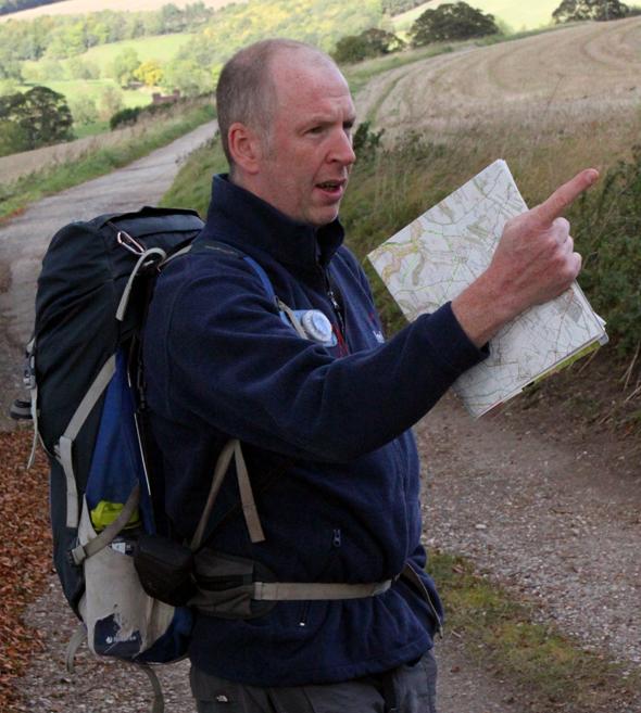 Mark Reid hat über Jahre die verschiedenen Routen ausgetüfftelt und ausprobiert. (Foto Karsten-Thilo Raab)