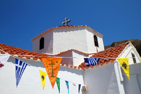 Ein echtes Kleinod - die Panagía-Kirche, in der nicht fotografiert werden darf. - Foto Karsten-Thilo Raab