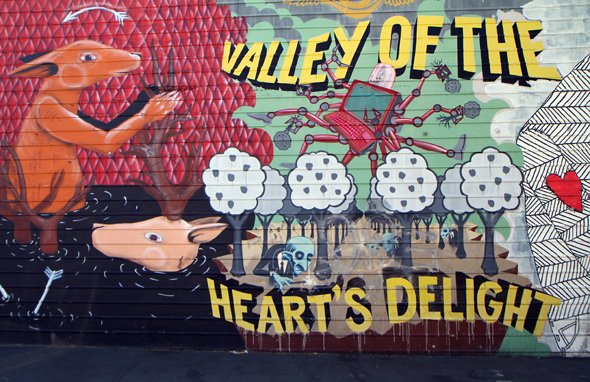 "Lange nannte sich das Silicon Valley auch ""Valley of heart's delight"". (Foto Karsten-Thilo Raab)"