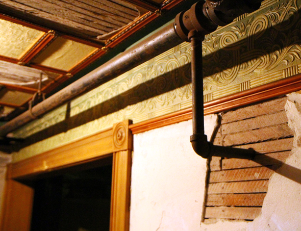 Viele Räume blieben nach dem Tod von Sarah Winchester unvollendet. (Foto Karsten-Thilo Raab)