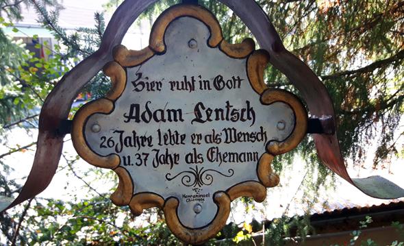 Ein glücklicher Ehemann scheint Adam Lentsch nicht gewesen zu sein... - Foto Karsten-Thilo Raab