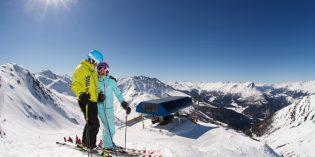 Zwei Länder Skiarena verbindet die Skigebiete Schöneben und Haideralm am Reschensee