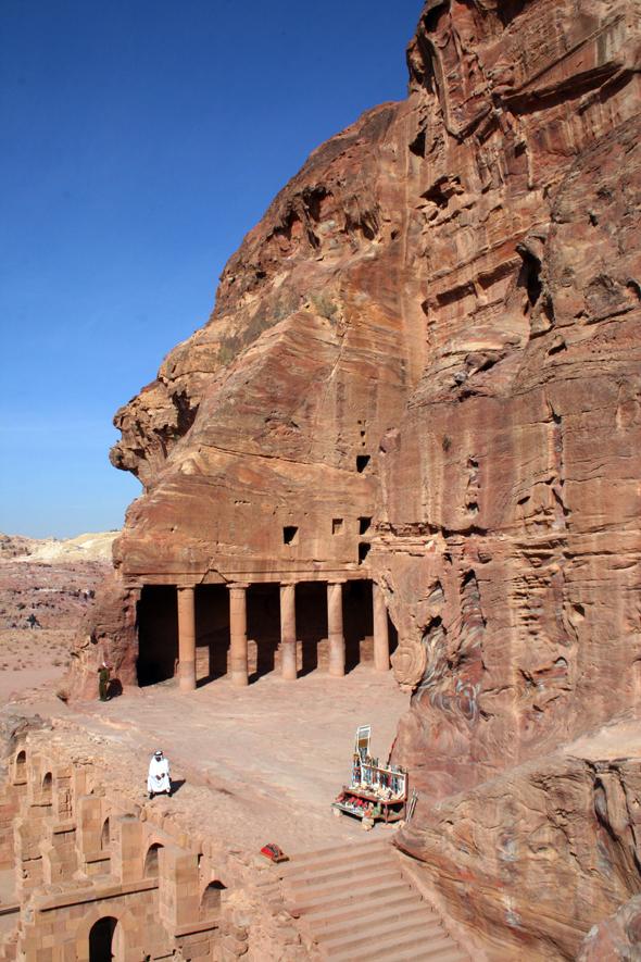 Das Palastgrab ist noch immer in einem erstaunlich guten Zustand. - Foto Karsten-Thilo Raab