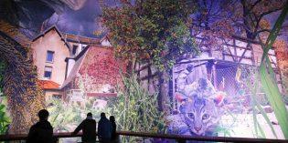 Neues Panorama lockt ins Panometer in Leipzig